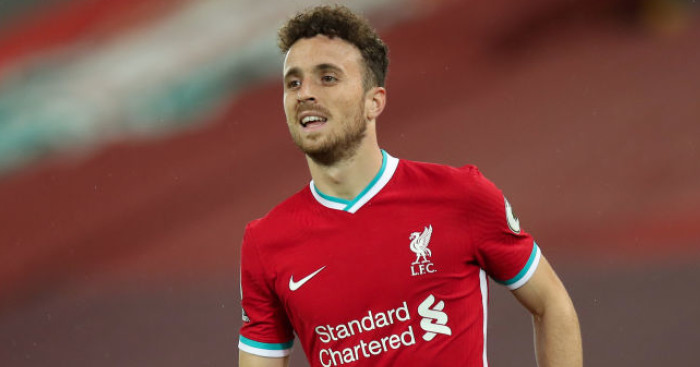 Diogo Jota gives 11-word response to question on dislodging Liverpool trio