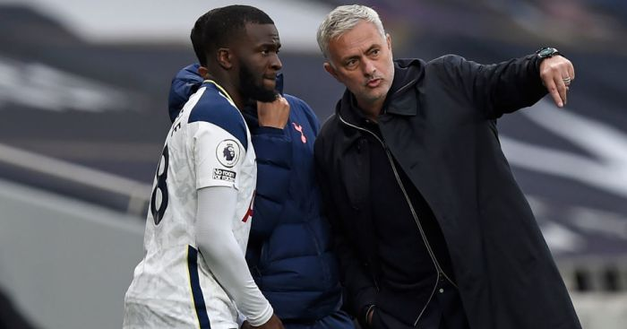 Tanguy Ndombele, Jose Mourinho Tottenham