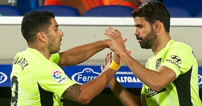 Suarez Costa Atletico TEAMtalk