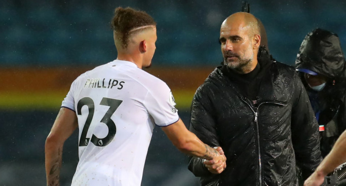 Phillips.Guardiola.TEAMtalk - Bielsa identifies key issue after stating Leeds victory 'wouldn't be fair'