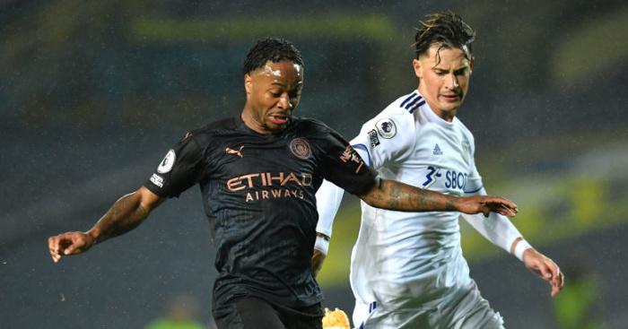 Sterling.Man .City .TEAMtalk - Guardiola reveals content of full-time Bielsa chat; praises Leeds tactics