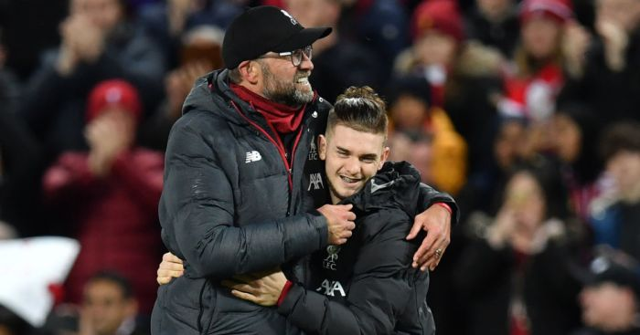 Jurgen Klopp, Harvey Elliott Liverpool