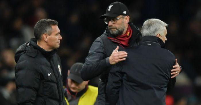 Jose Mourinho; Jurgen Klopp TEAMtalk