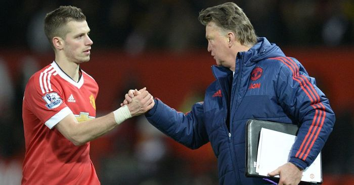 Morgan Schneiderlin, Louis van Gaal