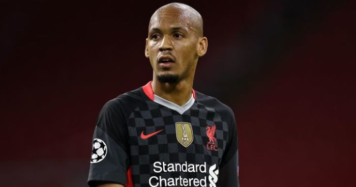 Liverpool star says 'we don't concede goals with Fabinho at centre-back' - team talk