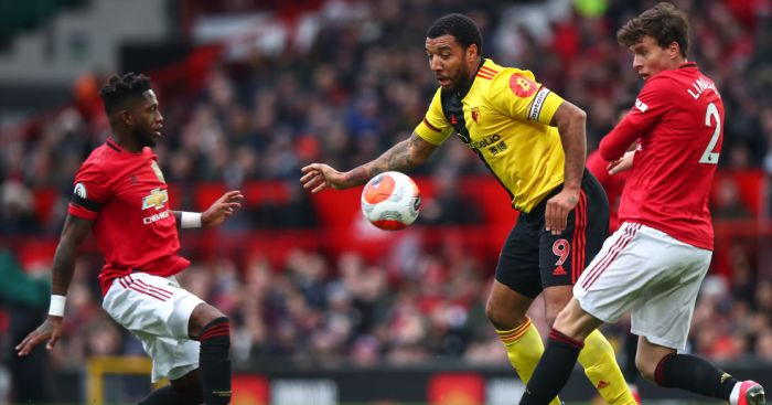Fred, Troy Deeney, Victor Lindelof