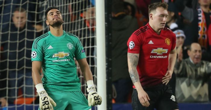 Sergio Romero, Phil Jones Man Utd