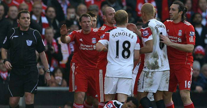 Carragher reveals he feared for his career after 'horrendous' Nani tackle - team talk