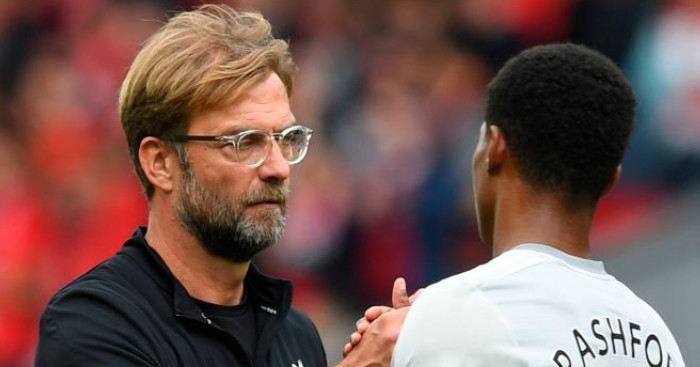 Jurgen Klopp praises 'incredible' Rashford; turns heat on Boris Johnson - team talk