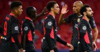Roberto Firmino, Sadio Mane, Mohamed Salah Liverpool