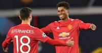 Marcus Rashford Bruno Fernandes Manchester United TEAMtalk