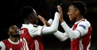 Eddie Nketiah, Joe Willock