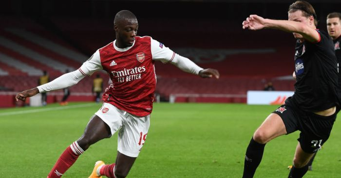 GettyImages.1282924565 - Arteta details where Pepe needs help; opens door to Arsenal fringe players