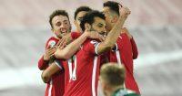 Diogo Jota, Mohamed Salah, Trent Alexander-Arnold, Roberto Firmino Liverpool TEAMtalk