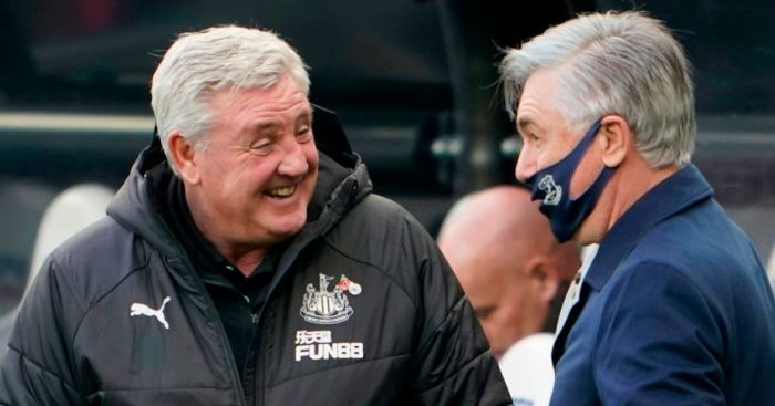 Steve Bruce Carlo Ancelotti TEAMtalk - Rangers plotting January raid for rejuvenated Newcastle forward