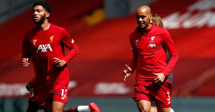 Joe Gomez, Fabinho Liverpool