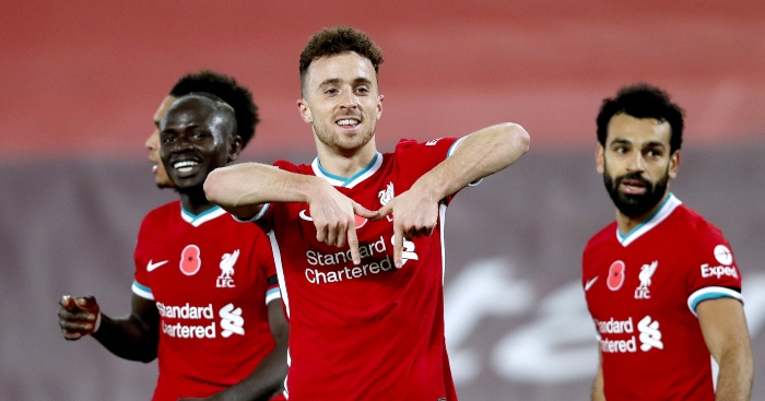 Diogo Jota Mo Salah Sadio Mane Liverpool - Jota outlines only regret despite dazzling start to Liverpool career