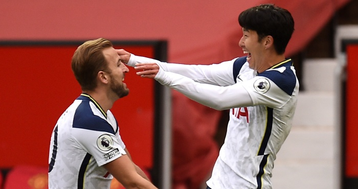 Harry Kane, Son Heung-min