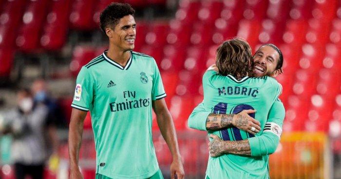 Luka Modric, Raphael Varane, Sergio Ramos