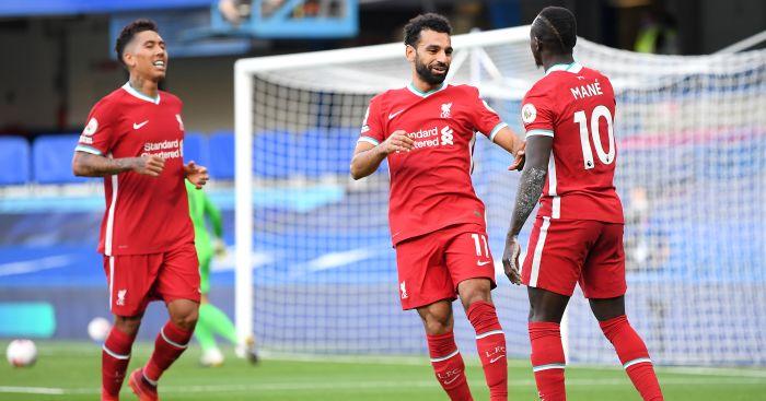 Roberto Firmino, Mohamed Salah, Sadio Mane