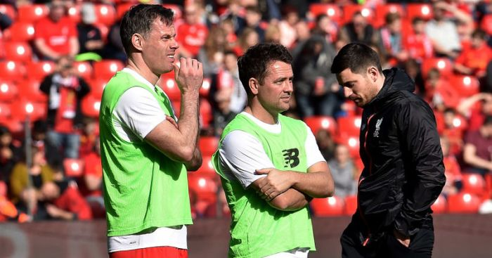 Michael Owen; Jamie Carragher TEAMtalk