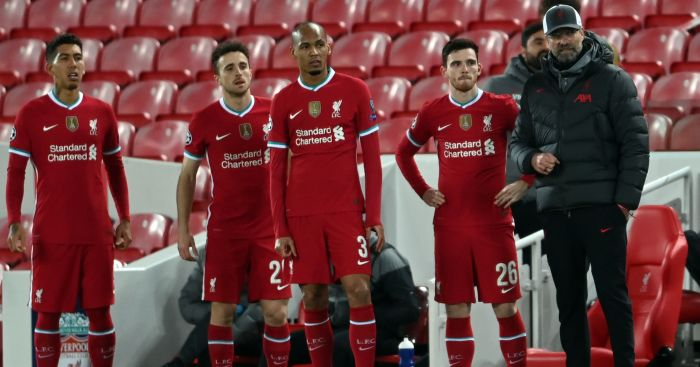 Pundit gives Liverpool dressing room insight after worst game in 'long time' - team talk