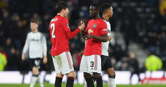 Victor Lindelof, Eric Bailly