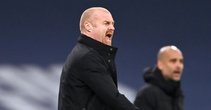 Sean Dyche tries to understand 'peculiar' Burnley record at Man City - team talk
