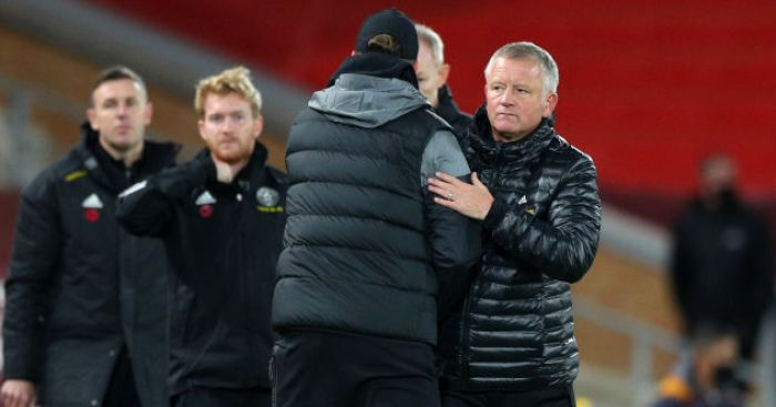Chris Wilder; Jurgen Klopp TEAMtalk