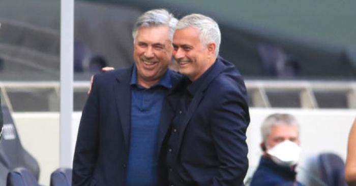 Ancelotti.Mourinho.TEAMtalk