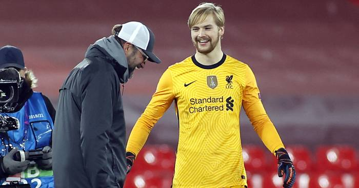 Jurgen Klopp Caoimhin Kelleher Liverpool TEAMtalk - Former coach reveals Liverpool keeper used to star in shock outfield role