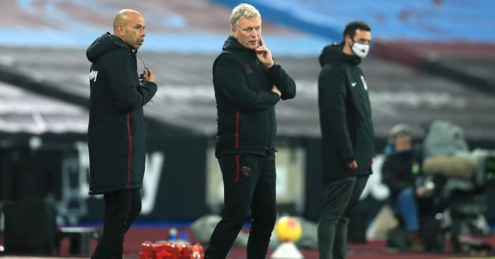 moyes1 1 - Moyes slams cruel Man Utd call which 'shook' West Ham into capitulation