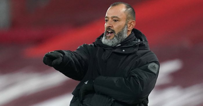 PA.56977658 - Wolves boss Nuno charged by FA over comments on referee Mason