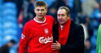 Steven Gerrard; Gerard Houllier TEAMtalk