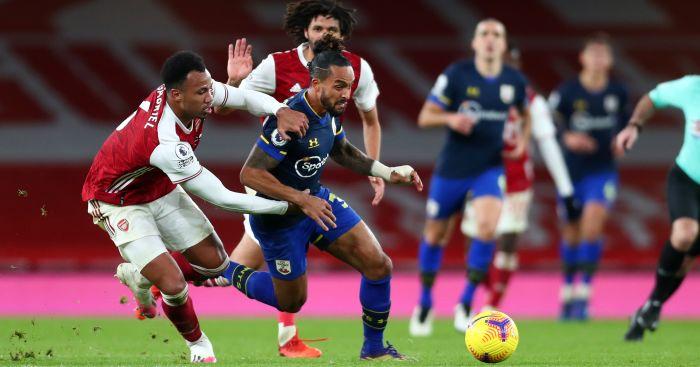 Gabriel Walcott Arsenal Southampton TEAMtalk