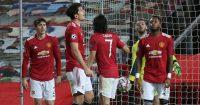 Lindelof, Maguire, Cavani, De Gea, Fred Man Utd TEAMtalk