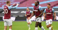 Jarrod Bowen, Michail Antonio, Pablo Fornals West Ham TEAMtalk