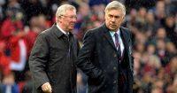 Carlo Ancelotti, Sir Alex Ferguson