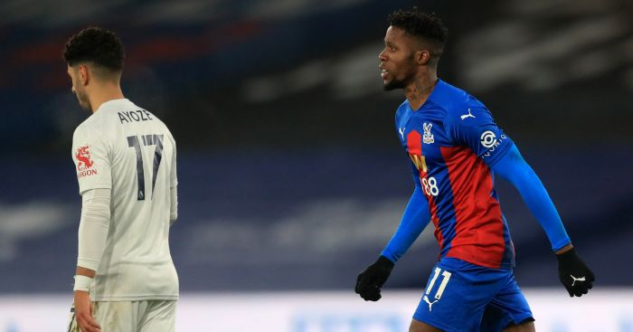Wilfried.Zaha1  - Leicester bounce back from penalty miss to strike late in Palace draw