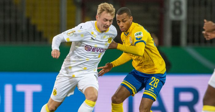 PA.57267994 - Catch emerges for Arsenal but deal look on as Dortmund make firm decision on Julian Brandt