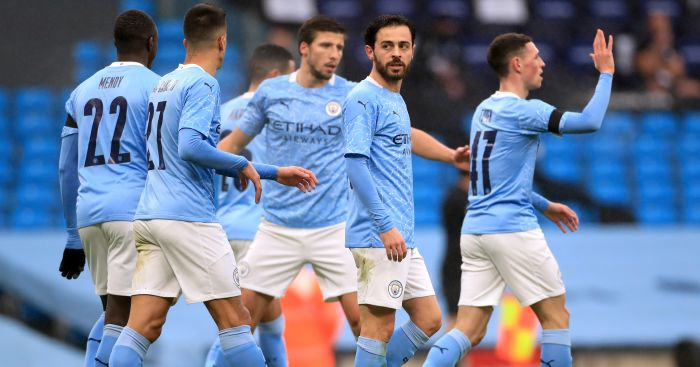 Bernardo Silva, Phil Foden Man City