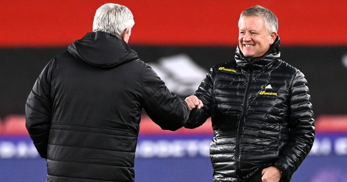 Steve Bruce Chris Wilder TEAMtalk