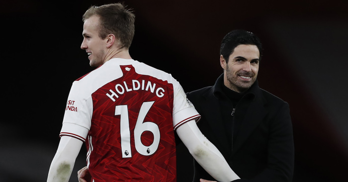Holding.Arteta.Arsenal.TEAMtalk