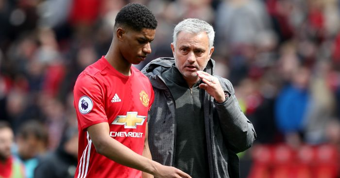 Marcus Rashford, Jose Mourinho Man Utd TEAMtalk