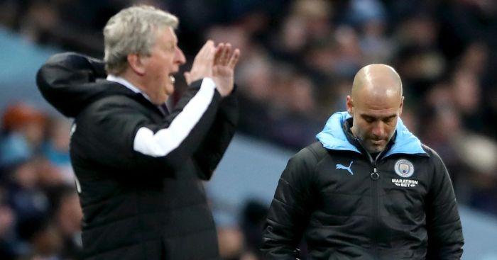 Roy Hodgson, Pep Guardiola, Crystal Palace, Manchester City TEAMtalk