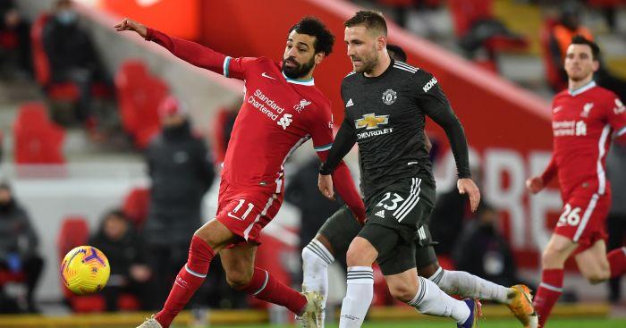 Mohamed Salah, Luke Shaw