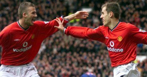 David Beckham; Phil Neville TEAMtalk