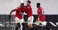 Paul Pogba, Bruno Fernandes, Fred Man Utd