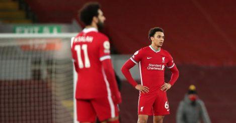 Mohamed Salah, Trent Alexander-Arnold Liverpool