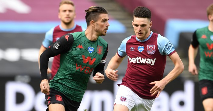 Jack Grealish, Declan Rice